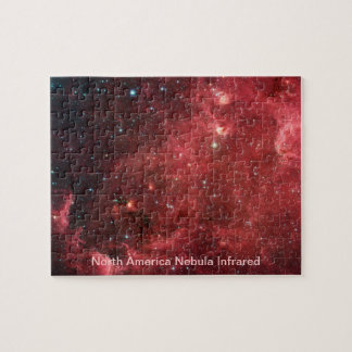 Infrarrojo de la nebulosa de Norteamérica Rompecabeza