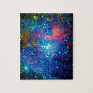 Infrarrojo de la nebulosa de Orión Puzzle Con Fotos