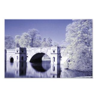 Infrarrojo, el puente magnífico, palacio de Blenhe Cojinete