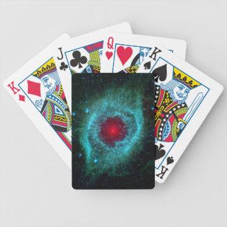 Infrarrojo Spitzer de la nebulosa de la hélice Baraja De Cartas