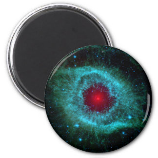Infrarrojo Spitzer de la nebulosa de la hélice Imán Redondo 5 Cm