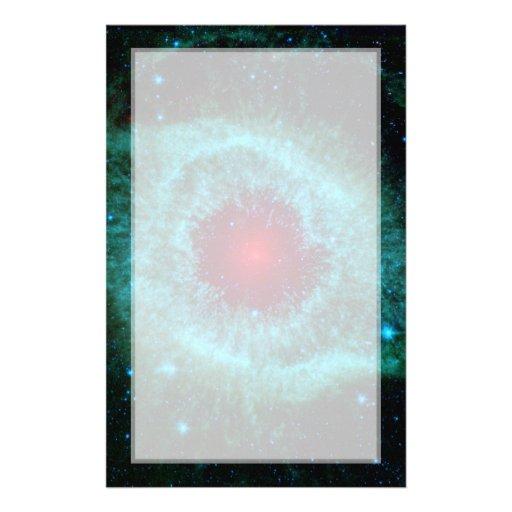 Infrarrojo Spitzer de la nebulosa de la hélice Papeleria De Diseño