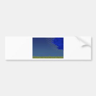 infrastructure - concept bumper sticker