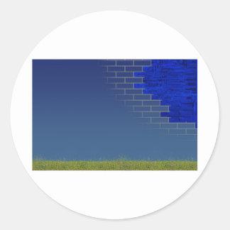 infrastructure - concept classic round sticker
