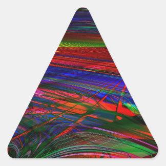 Infrastructure Triangle Sticker