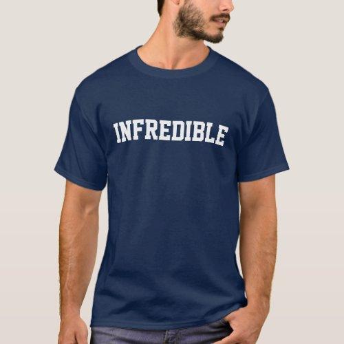 INFREDIBLE _ Fred Jackson Buffalo Bills 22 __DARK T_Shirt