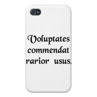 Infrequent use commends pleasure. iPhone 4/4S cover