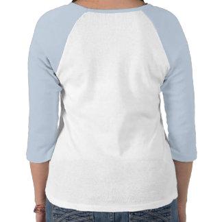 Infrinja la camisa con mangas del diseño 3/4 de la