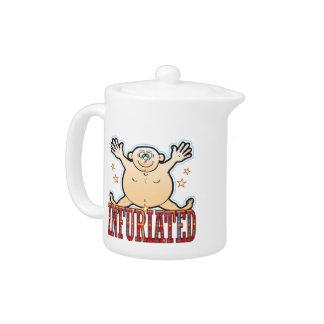 Infuriated Fat Man Teapot
