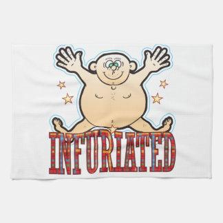 Infuriated Fat Man Towel