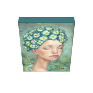 Infusión ideal lienzo envuelto para galerias