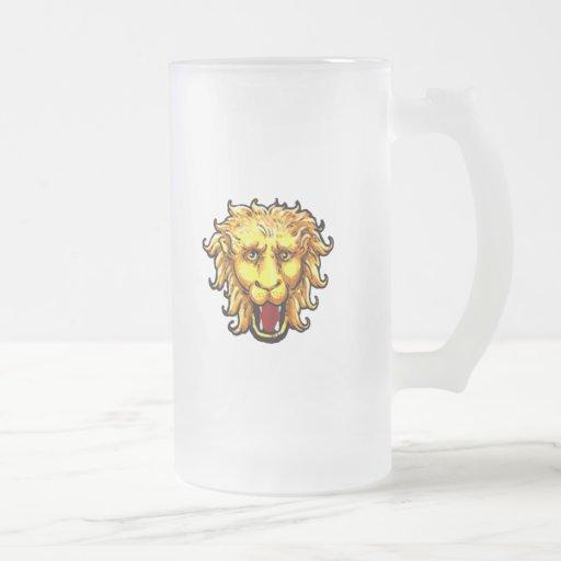 ing Lion Big Game Wild Cat Coffee Mug