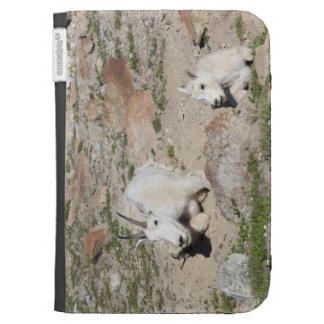 Ingalls Lake area, Nanny goat and kid Kindle Keyboard Covers