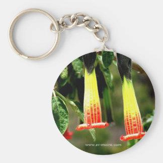 Ingapirca, Ecuador Basic Round Button Keychain