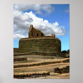 Ingapirca Inca ruins, Ecuador Poster