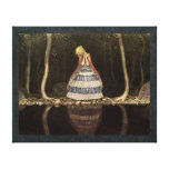 Inge by the Lake Swedish Fairytale Stretched Canvas Print
