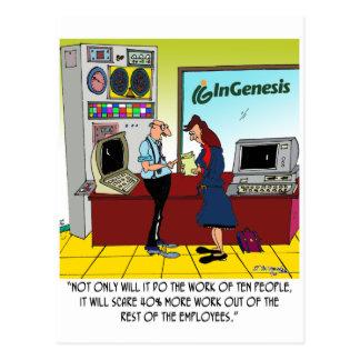 InGenesis Custom Cartoon Postcard