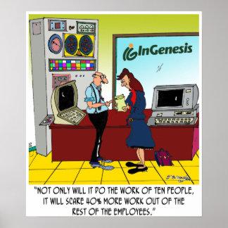 InGenesis Custom Cartoon Poster