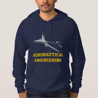 Ingeniería aeronáutica adaptable sudadera