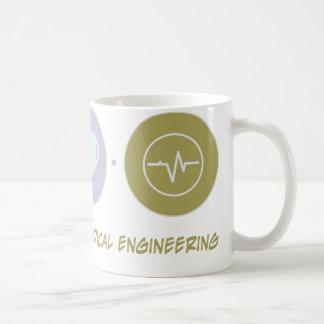 Ingeniería biomédica del amor de la fe tazas