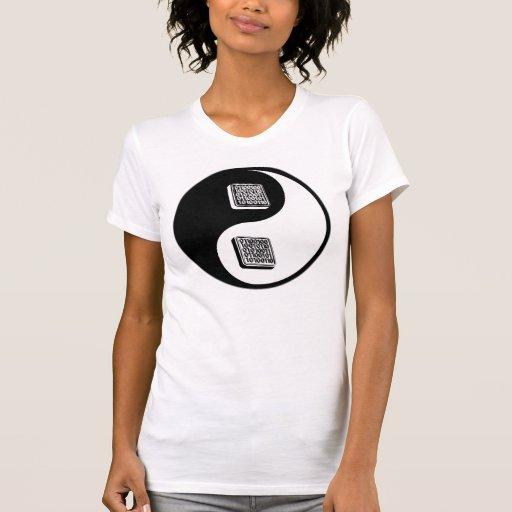 Ingeniería de programas informáticos de Yin Yang Camiseta