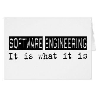 Ingeniería de programas informáticos es tarjetas