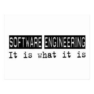 Ingeniería de programas informáticos es postal
