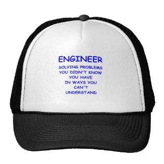 ingeniería del ingeniero gorras de camionero