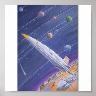 Ingeniería espacial poster