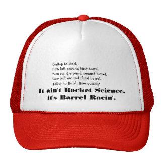 Ingeniería espacial que compite con del barril - c gorras de camionero