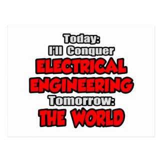 Ingeniería hoy eléctrica… mañana postal