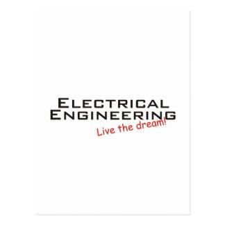 Ingeniería ideal/eléctrica tarjetas postales