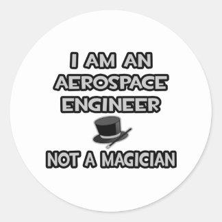 Ingeniero aeroespacial… no un mago etiquetas
