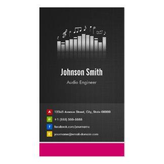Ingeniero audio - innovador creativo superior plantillas de tarjetas de visita
