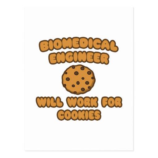 Ingeniero biomédico. Trabajará para las galletas Postal