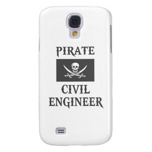 Ingeniero civil del pirata funda para galaxy s4