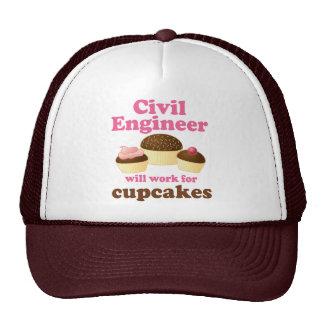 Ingeniero civil divertido gorras