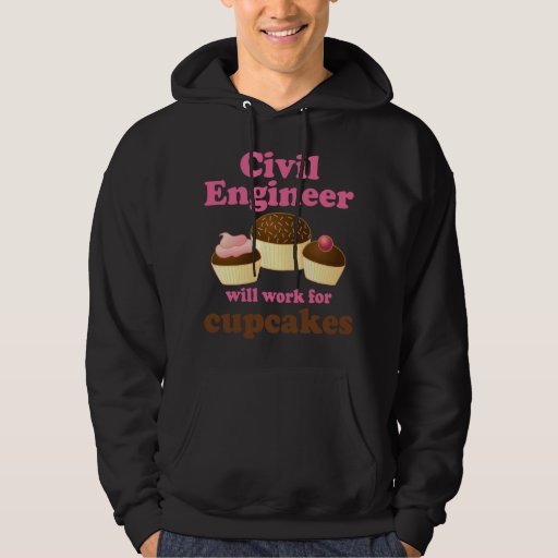 Ingeniero civil divertido sudadera