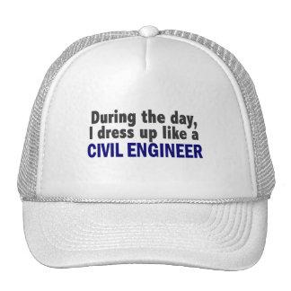 Ingeniero civil durante el día gorros bordados
