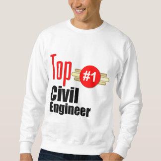 Ingeniero civil superior sudadera
