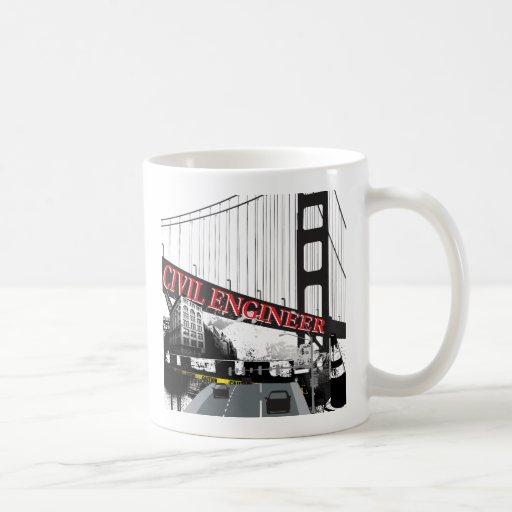 Ingeniero civil taza de café