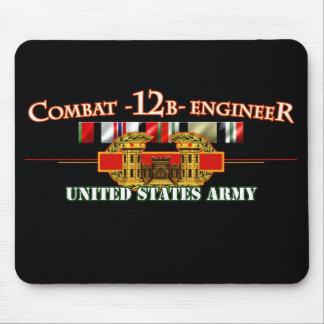 Ingeniero de combate 12B OEF OIF Alfombrilla De Raton