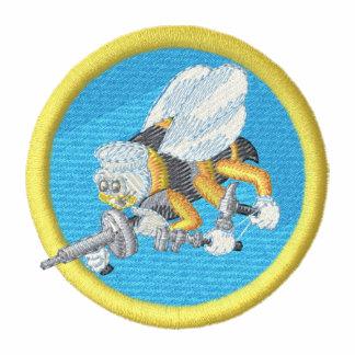 Ingeniero de infanteria de marina de la marina de chaqueta
