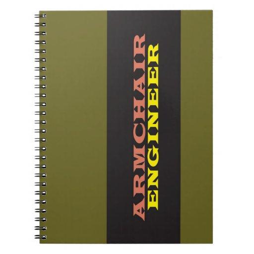 """Ingeniero de la butaca "" Notebook"