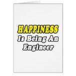 Ingeniero de la felicidad… tarjetón