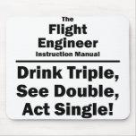 ingeniero de vuelo tapetes de raton