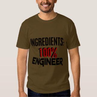 Ingeniero del 100% camisas