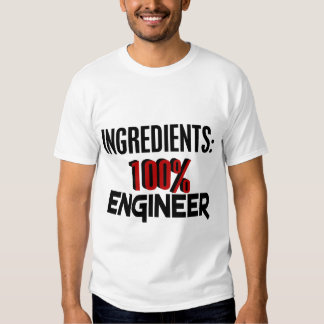 Ingeniero del 100% playera