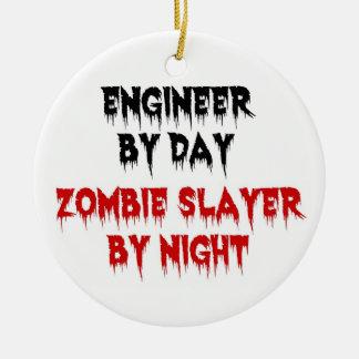Ingeniero del asesino del zombi del día por noche ornatos