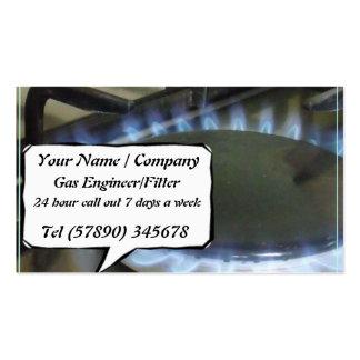 Ingeniero del gas/una tarjeta de visita más apta 2